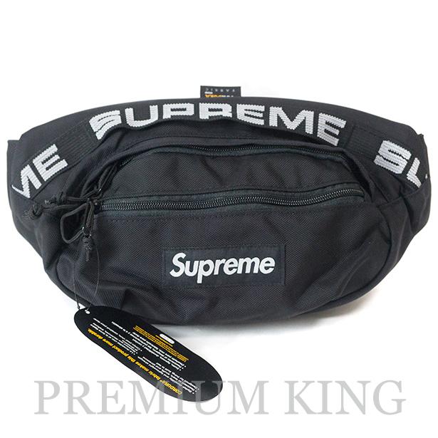 国内正規品 2018SS Supreme 1050D Cordura ripstop nylon Waist Bag Black 新品未使用品 [ シュプリーム コーデュラ リップストップ ナイロン ウエスト バッグ ブラック 黒 ]