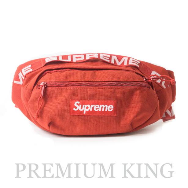 国内正規品 2018SS Supreme 1050D Cordura ripstop nylon Waist Bag Red 新品未使用品 [ シュプリーム コーデュラ リップストップ ナイロン ウエスト バッグ レッド 赤 ]