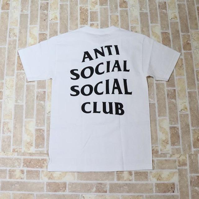 正規品 2018 Anti Social Social Club Logo Tee 2 White 新品未使用品 [ アンチ ソーシャル ソーシャル クラブ ASSC ロゴ Tシャツ ホワイト 白 ]