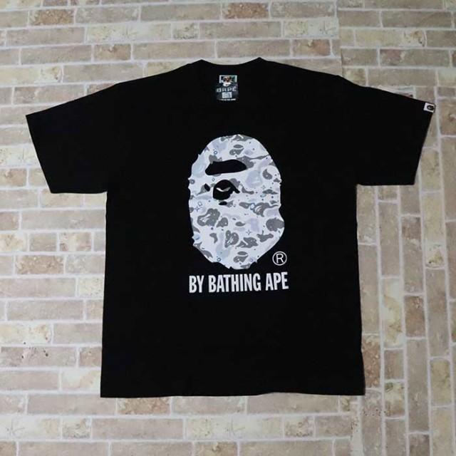 国内正規品 2019SS A BATHING APE BAPE SPACE CAMO BY BATHING TEE Black 新品未使用品 [ ベイシングエイプ ベイプ スペース カモ バイ ベイシング Tシャツ ブラック 黒 ]