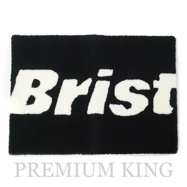 国内正規品 2017-18AW F.C.R.B. Bristol Logo Rug Black 新品未使用品 [ SOPH. FCRB ソフ ブリストル ロゴ ラグマット ブラック 黒 ]