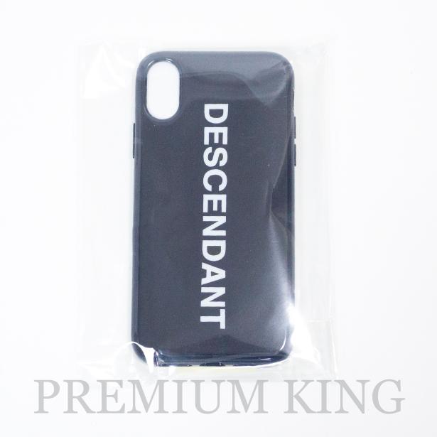 国内正規品 2018SS DESCENDANT BOX/I PHONE CASE<X対応> NAVY 新品未使用品 [ ディセンダント ボックス iPhoneケース for iPhoneX 181OMDS-AC02S ]