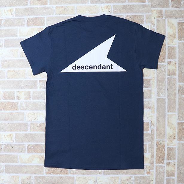 国内正規品 2018SS DESCENDANT ORCA/CREWNECK SS Navy 新品未使用品 [ ディセンダント オルカ クルーネック ショートスリーブ ネイビー 紺 ]