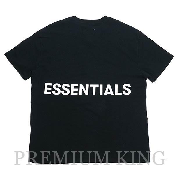国内正規品 FOG Fear Of God Essentials Boxy Graphic T-Shirt Black 新品未使用品 [ フィアオブゴッド エッセンシャルズ Tシャツ ブラック ]