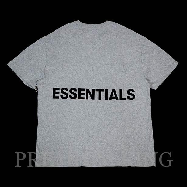 国内正規品 FOG Fear Of God Essentials Boxy Graphic T-Shirt Gray 新品未使用品 [ フィアオブゴッド エッセンシャルズ Tシャツ グレー ]