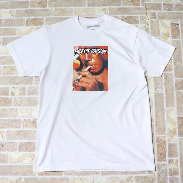 正規品 FUCKING AWESOME LOCALS TEE WHITE 美中古品 [ ファッキンオーサム ローカル Tシャツ ホワイト 白 ]