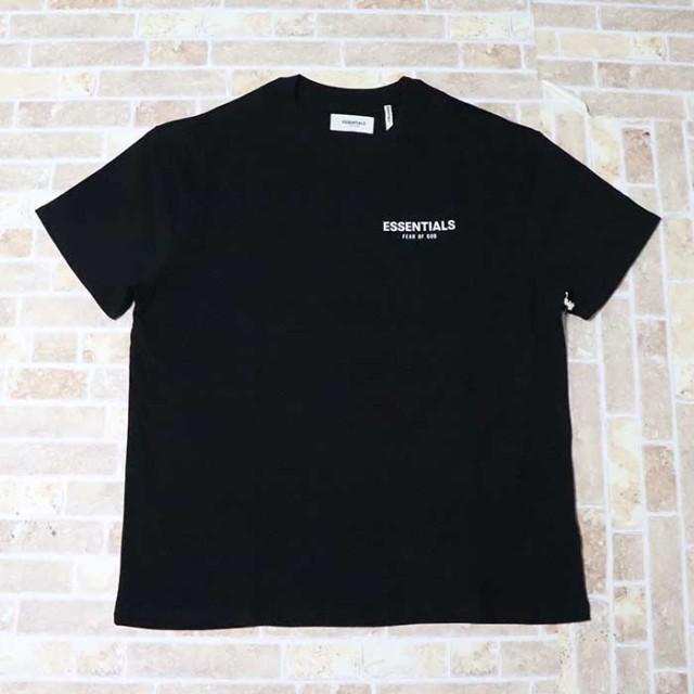 正規品 2019SS FOG Fear Of God Essentials Logo T-Shirt Black 新品未使用品 [ フィア オブ ゴッド パクサン フォグ エッセンシャルズ ロゴ Tシャツ ブラック 黒 ]