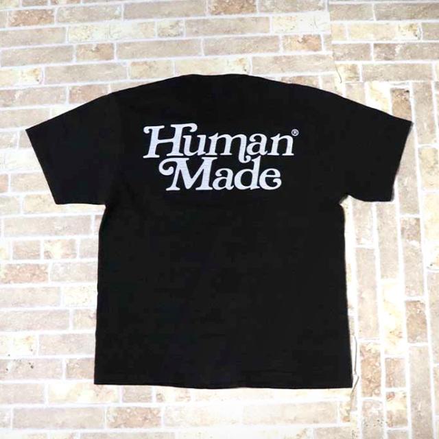国内正規品 伊勢丹限定 2019SS HUMAN MADE × Girls Don't Cry T-SHIRT #1724 Black 新品同様品 [ ガールズ ドント クライ ヒューマンメイド Tシャツ ブラック 黒 ]