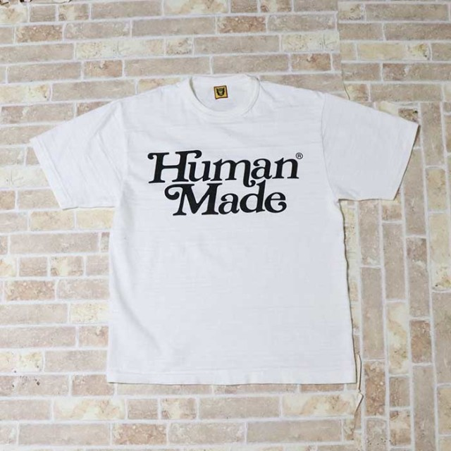 国内正規品 伊勢丹限定 2019SS HUMAN MADE × Girls Don't Cry T-SHIRT #1728 White 新品同様品 [ ガールズ ドント クライ ヒューマンメイド Tシャツ ホワイト 白 ]