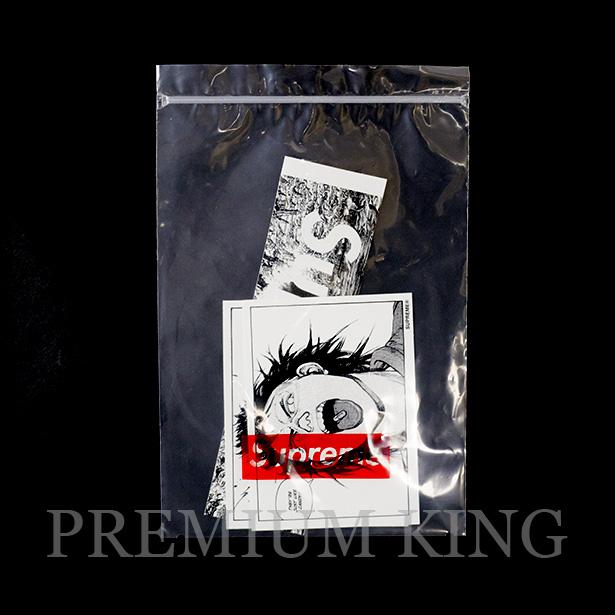 国内正規品 2017AW Supreme × Akira Sticker Set 新品未使用品 [ シュプリーム アキラ ステッカー 3枚 セット Box Logo ボックスロゴ neo tokyo pill arm ]