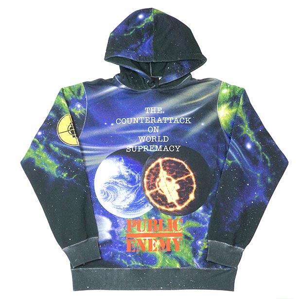 国内正規品 2018SS Supreme/Undercover/Public Enemy Hooded Sweatshirt Multi 新品未使用品 [ シュプリーム アンダーカバー パブリックエネミー フーディ パーカー マルチ ]