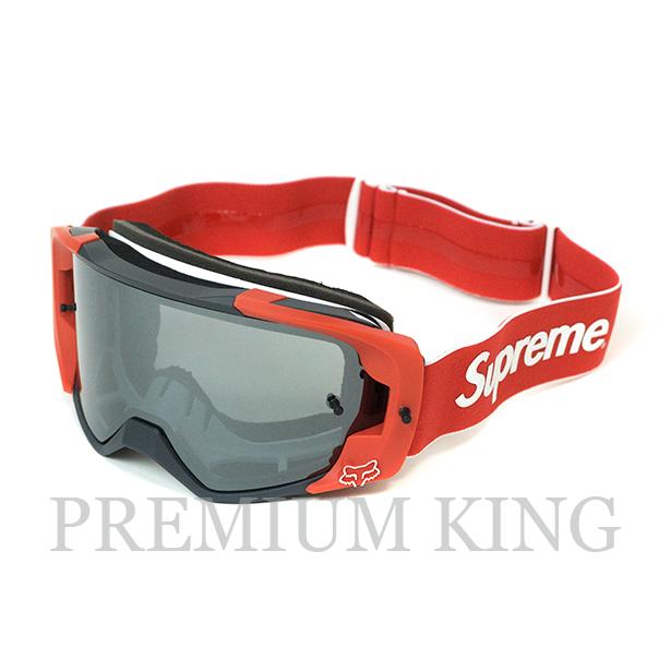 国内正規品 2018SS Supreme Fox Racing VUE Goggles Red 新品未使用品 [ シュプリーム フォックスレーシング ゴーグル レッド ]
