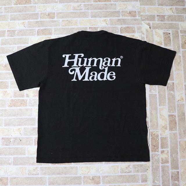 国内正規品 伊勢丹限定 2019SS HUMAN MADE × Girls Don't Cry T-SHIRT #1724 Black 新品未使用品 [ ガールズ ドント クライ ヒューマンメイド Tシャツ ブラック 黒 ]