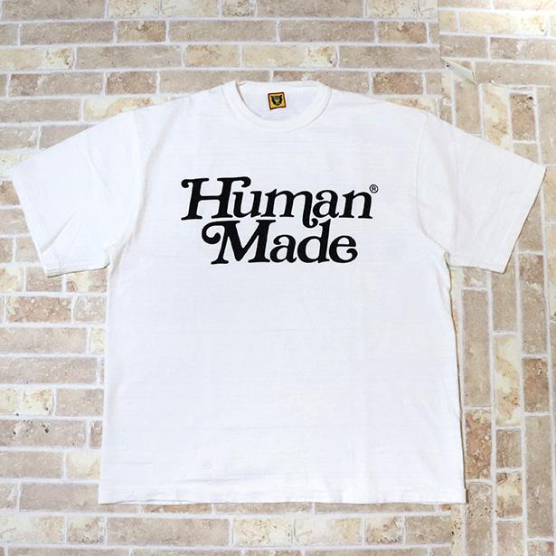 国内正規品 伊勢丹限定 2019SS HUMAN MADE × Girls Don't Cry T-SHIRT #1728 White 新品未使用品 [ ガールズ ドント クライ ヒューマンメイド Tシャツ ホワイト 白 ]