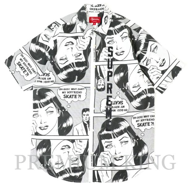 国内正規品 2017SS Supreme x Thrasher Boyfriend S/S Shirt White 新品未使用品 [ シュプリーム スラッシャー ボーイフレンド 半袖 シャツ ホワイト 白 ]