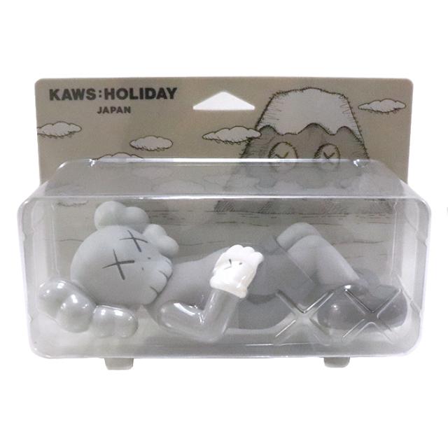 正規品 2019 KAWS HOLIDAY JAPAN 8 Vinyl Figure Grey 新品未使用品 [ カウズ ホリデー ジャパン ビニール フィギュア グレー 灰 ]