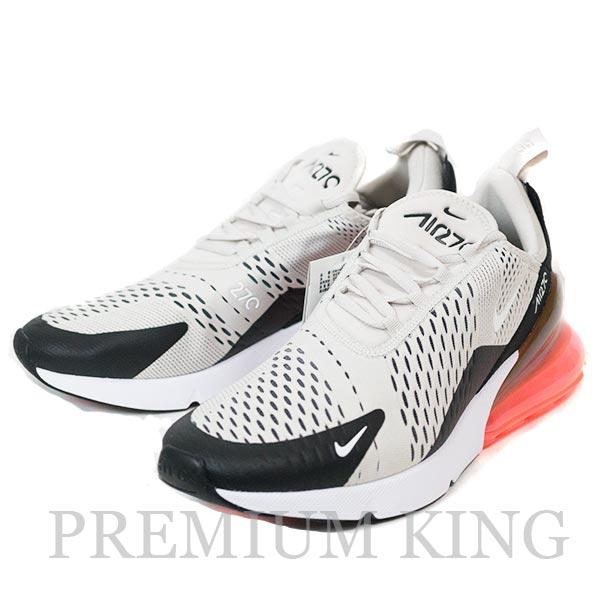 国内正規品 2018 Nike Air Max 270 Light Bone/White-Black-Hot Punch 新品未使用品 [ ナイキ エアマックス ライトボーン ホットパンチ ベージュ レッド 赤 AH8050-003 ]