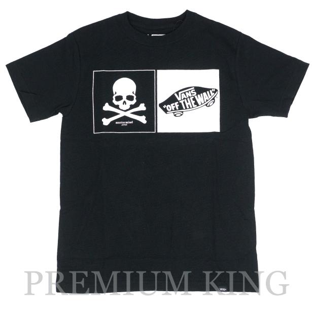国内正規品 MASTERMIND × VANS  BACK CHECKER OTW S/S T-Shirts Black 未使用品 [ マスターマインド バンズ バックチェッカーズ Tシャツ ブラック 黒 VA16SS-MT02MJ  コラボ ]