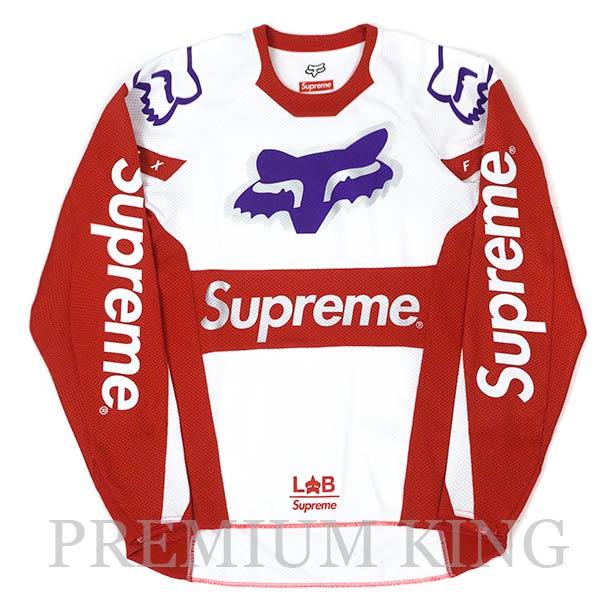 国内正規品 2018SS Supreme Fox Racing Moto Jersey Top Red 新品未使用品 [ シュプリーム フォックスレーシング モト ジャージ トップ レッド ]