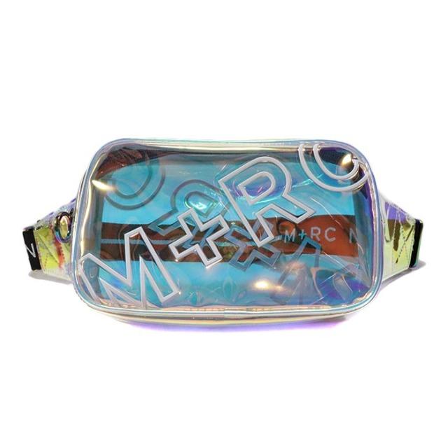 正規品 2019 M+RC NOIR Overdue Rainbow Belt Bag 新品未使用品 [ マルシェノア オーバーデュー レインボウ ベルト バッグ 透明 クリア ]