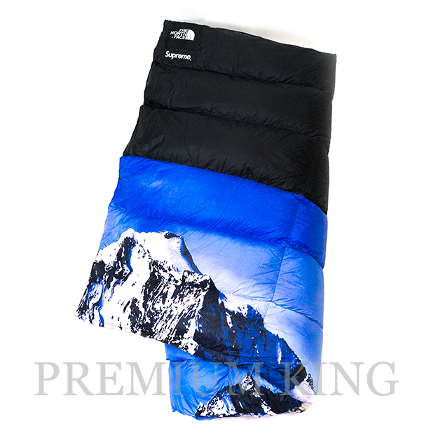 国内正規品 2017AW SUPREME × THE NORTH FACE Mountain Nuptse Blanket Mountain 新品未使用品 [ シュプリーム ノースフェイス マウンテン ヌプシ ブランケット]