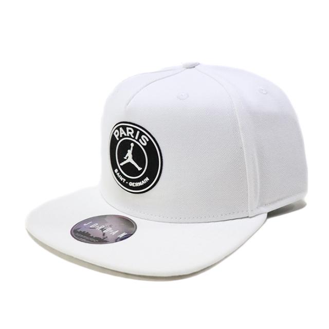 正規品 2019SS NIKE × PSG Paris Saint-Germain Circle Logo CAP White 新品未使用品 [ ナイキ パリサンジェルマン エア ジョーダン ロゴ キャップ 白 ]
