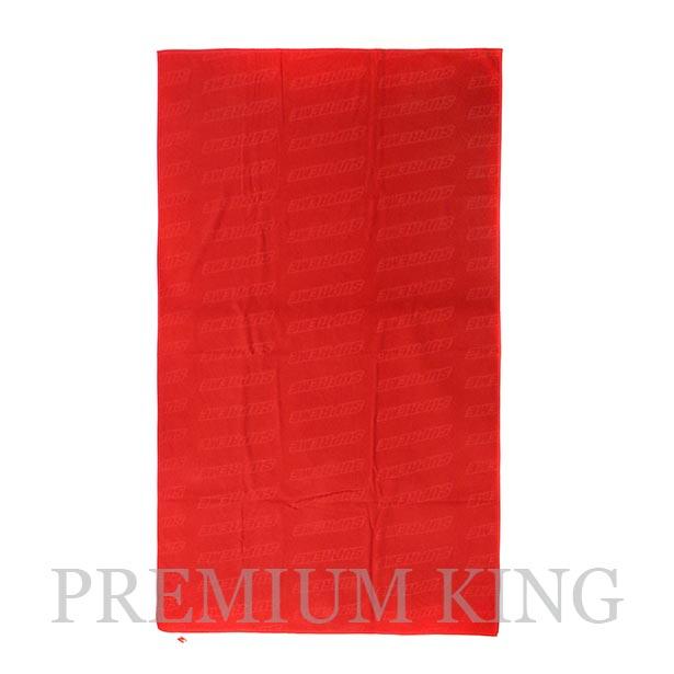 国内正規品 2018SS Supreme Debossed Logo Beach Towel Red 新品未使用品 [ シュプリーム デボスド ロゴ ビーチ タオル 赤 ]