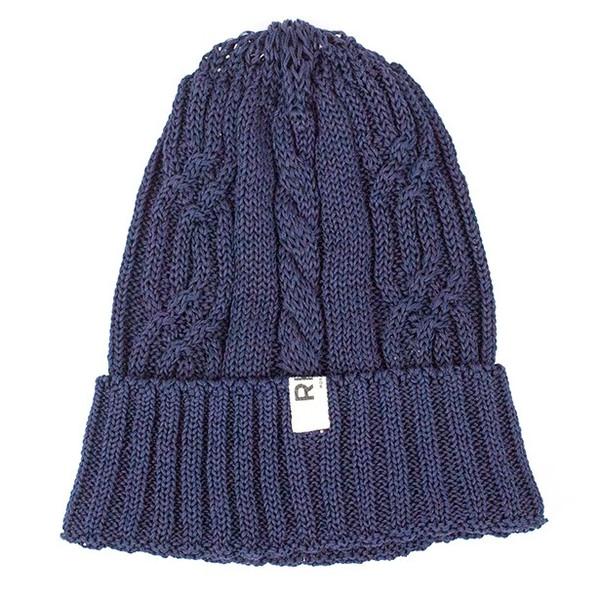 2015SS RHC Ron Herman Cotton Knit cap Navy 未使用品 [ ロンハーマン コットン ニットキャップ ネイビー ]