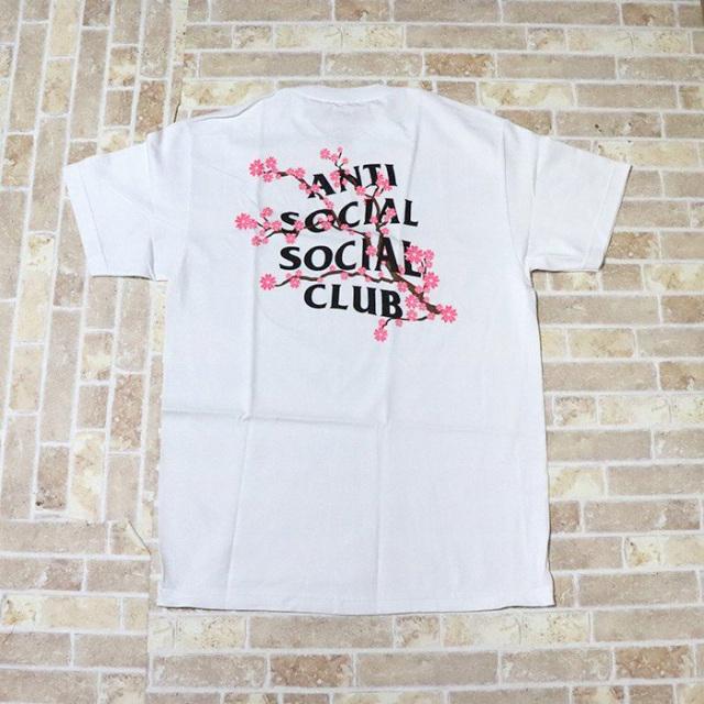 正規品 Anti Social Social Club Cherry Blossom Tee White 新品未使用品  [ アンチ ソーシャル ソーシャル クラブ ASSC チェリー ブロッサム Tシャツ ホワイト 白 ]