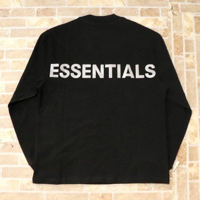 国内正規品 2019AW FOG ESSENTIALS Boxy Graphic Long Sleeve T-Shirt Black 新品未使用品 [ フィア オブ ゴッド フォグ エッセンシャルズ 長袖 Tシャツ ロンT ブラック 黒 ]
