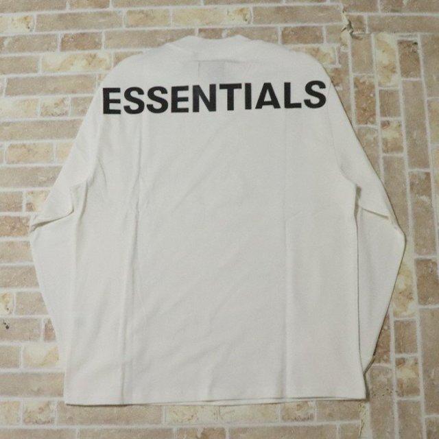 国内正規品 2019AW FOG ESSENTIALS Boxy Graphic Long Sleeve T-Shirt White 新品未使用品 [ フィア オブ ゴッド フォグ エッセンシャルズ 長袖 Tシャツ ロンT ホワイト 白 ]