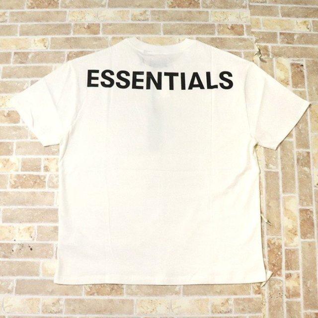 国内正規品 2019AW FOG ESSENTIALS Boxy T-Shirt White 新品未使用品 [ フィア オブ ゴッド フォグ エッセンシャルズ Tシャツ ホワイト 白 ]