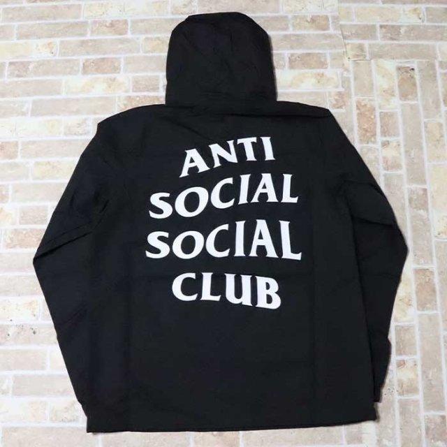 正規品 Anti Social Social Club CLUB MAK ANORAK Black 新品未使用品  [ アンチ ソーシャル ソーシャル クラブ ASSC クラプ アノラック ジャケット ブラック 黒 ]