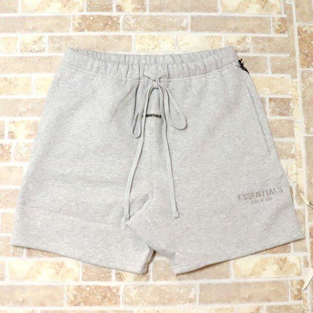 正規品 2019AW FOG ESSENTIALS Sweat Shorts Grey 新品未使用品 [ フィアオブゴッド エッセンシャルズ ロゴ スウェット ショーツ グレー ]