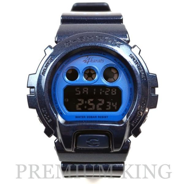 24karats x CASIO G-SHOCK DW-6900 Blue 未使用品 [ Gショック ジーショック トゥエンティーフォー カラッツ コラボ 青 ブルー 限定 ]