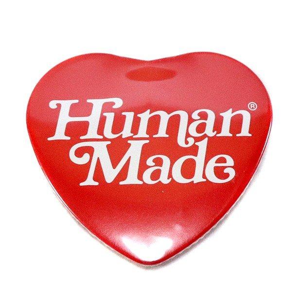国内正規品 京都限定 2019SS HUMAN MADE × Girls Don't Cry Heart Badge Red 新品未使用品 [ ガールズ ドント クライ ヒューマンメイド ハート バッジ レッド 赤 ]