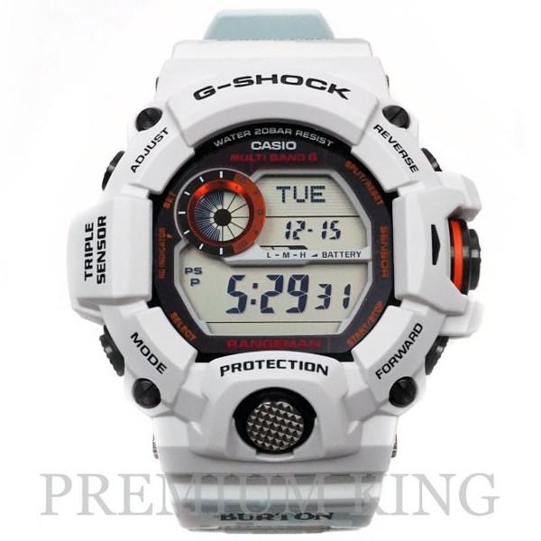 国内正規品 CASIO G-SHOCK × BURTON GW-9400BTJ-8JR WHITE 未使用品 [ カシオ ジーショック バートン コラボ ホワイト 白 ]