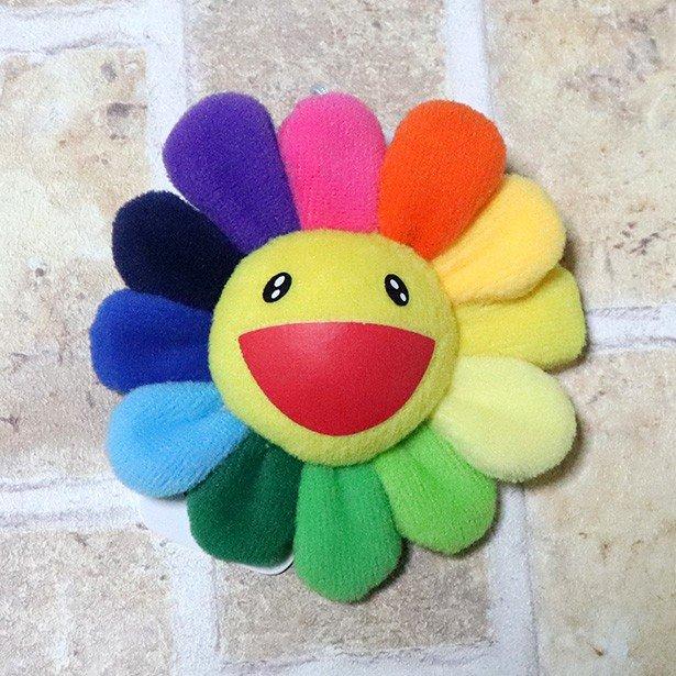 国内正規品 kaikaikiki 村上隆 Flower Keychain Rainbow 新品未使用品 [ カイカイキキ フラワー お花  キーチェーン レインボー 黄 ]