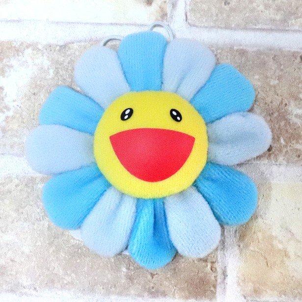 国内正規品 kaikaikiki 村上隆 Flower Keychain Blue 新品未使用品 [ カイカイキキ フラワー お花  キーチェーン ブルー ]