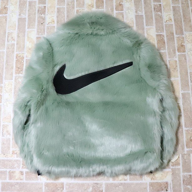 正規品 2018AW NIKE x AMBUSH Women's Reversible Faux Fur Coat Green 新品未使用品 [ ナイキ アンブッシュ ウーマンズ リバーシブル フェイクファー コート 緑 ]