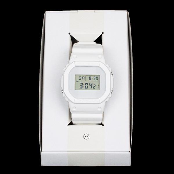 2014FW Ron Herman x CASIO × Fragment G-SHOCK 5600 White 未使用品 [ ロンハーマン カシオ フラグメント ホワイト ]