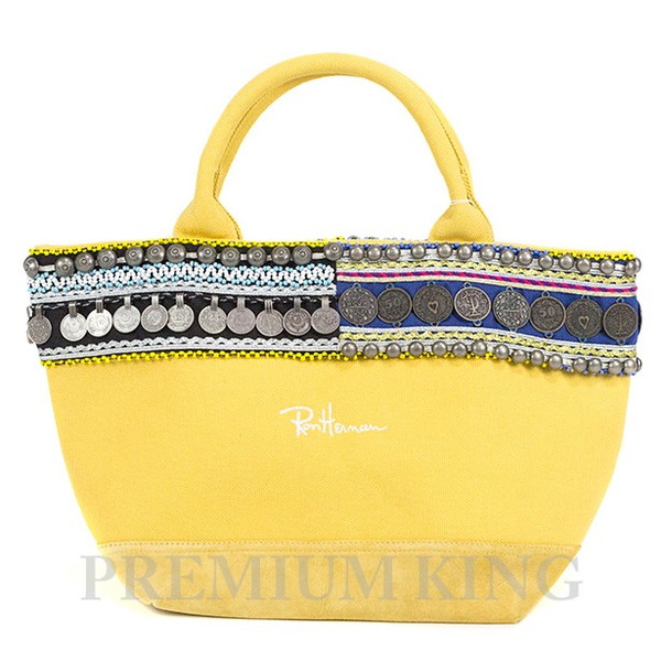 2015 Ron Herman New Coin Tote Bag Yellow 未使用品 [ ロンハーマン 名古屋 限定品 ニュー コイントート バッグ イエロー ]