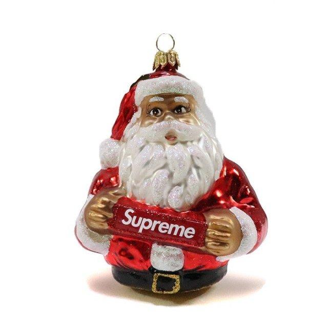 正規品 2018AW Supreme Santa Ornament Red 新品未使用品 [ シュプリーム サンタ オーナメント レッド 赤 ]