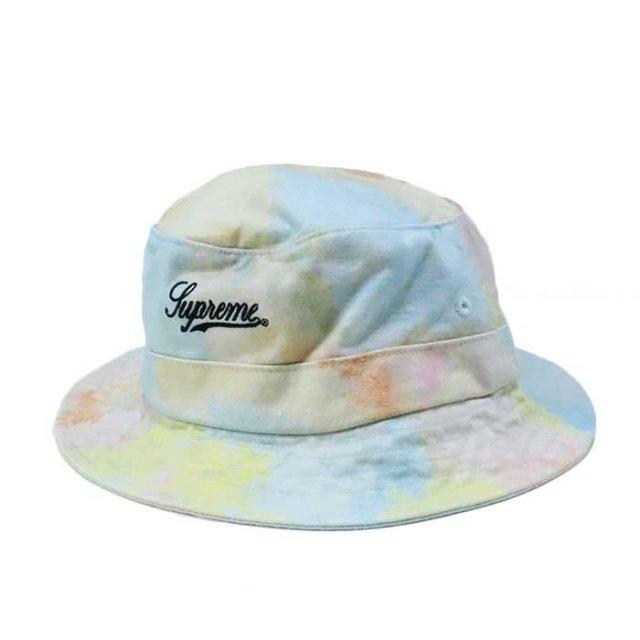 国内正規品 2018SS Supreme Multicolor Denim Crusher Hat Multicolor 新品未使用品 [シュプリーム マルチカラー デニム クラッシャー ハット ]