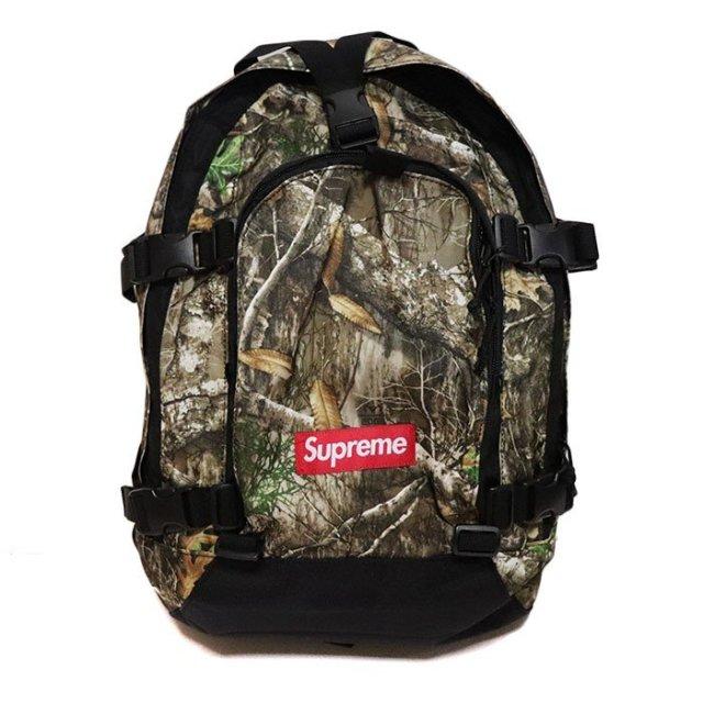 国内正規品 2019AW Supreme Backpack Tree Camo 新品未使用品 [シュプリーム バックパック リュック ツリーカモ 迷彩 ]