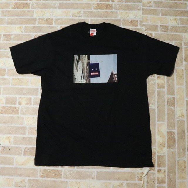 国内正規品 2019AW Supreme Banner Tee Black 新品未使用品 [ シュプリーム バナー Tシャツ ブラック 黒 ]