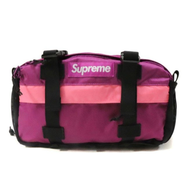 国内正規品 2019AW Supreme Waist Bag Magenta 新品未使用品 [シュプリーム ウエストバッグ マゼンタ ピンク ]