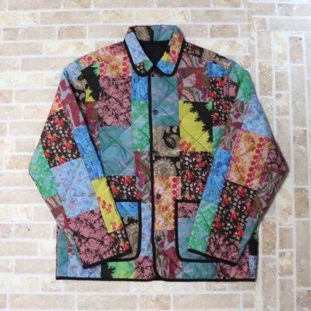 国内正規品 2019SS Supreme Reversible Patchwork Quilted Jacket Multi color 新品未使用品 新品未使用品 [ シュプリーム リバーシブル キルテッド パッチワーク ジャケット マルチカラー ]
