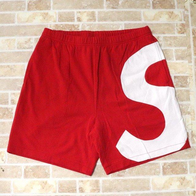 国内正規品 2019SS Supreme S Logo Short Red 新品未使用品 [ シュプリーム ロゴ ショーツ ショートパンツ レッド 赤 ]