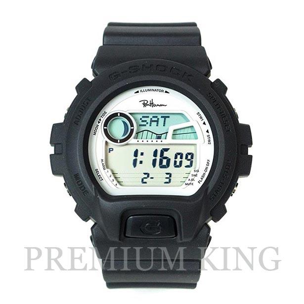 国内正規品 2018SS CASIO G-SHOCK for Ron Herman GLX-6900-1JF BLACK 新品未使用品 [ カシオ ジーショック ロンハーマン ブラック コラボレーション モデル ]